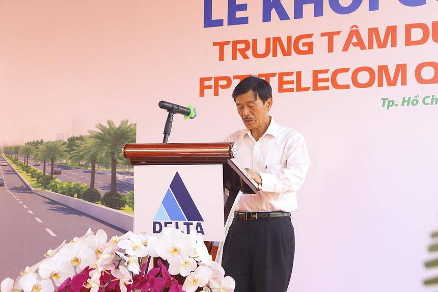 Máy Chủ FPT: Ông Nguyễn Thành Vinh (CEO Tập đoàn Delta, đơn vị thi công) chia sẻ.