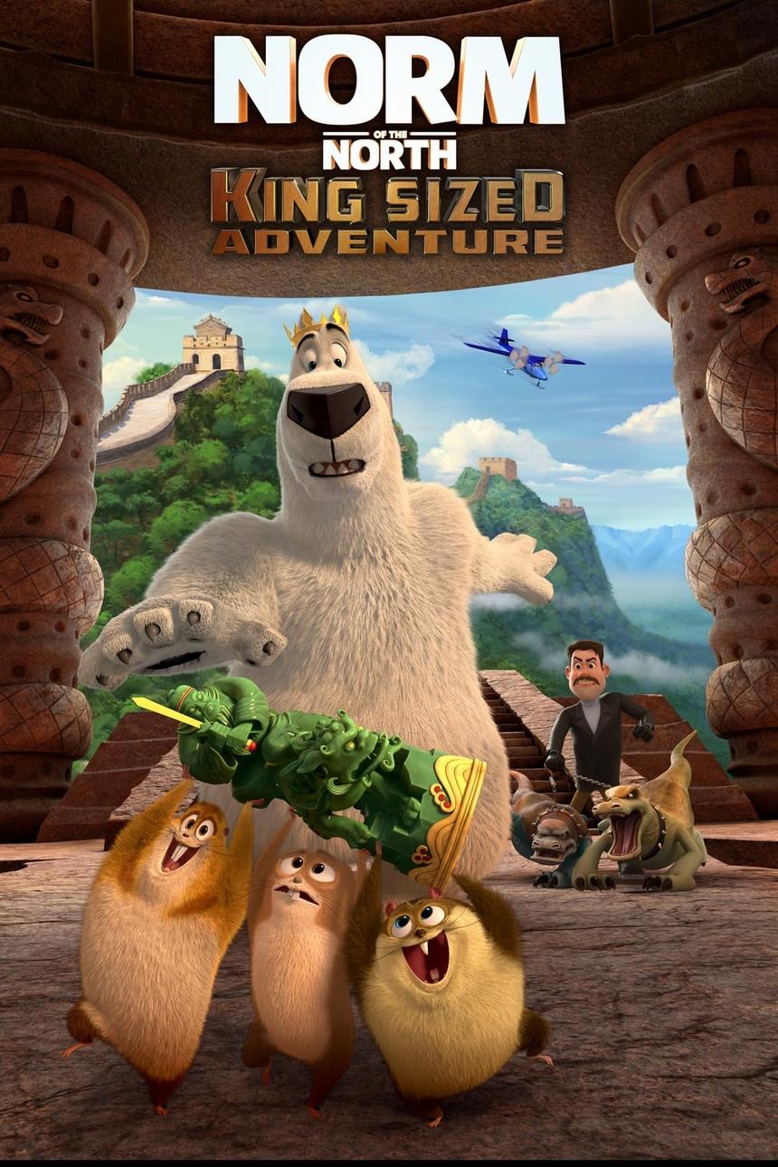 """""""Norm of the North: King sized adventure"""" (Đầu gấu Bắc cực 3: Truy tìm cổ vật) hội tụ đủ yếu tố của một siêu phẩm hoạt hình đáng xem dành cho các em nhỏ và gia đình dịp Quốc tế thiếu nhi 2020. Bộ phim hứa hẹn sẽ chinh phục fan cứng của dòng phim hoạt hình vì những điểm mạnh về cốt truyện và hình ảnh. Chú gấu Norm với tính cách tốt bụng nhưng có phần hậu đậu, vụng về là """"thỏi nam châm"""" hút khách cho thương hiệu phim hoạt hình Đầu gấu Bắc cực. Bên cạnh đó, đội sóc chuột Lemmut - bạn đồng hành cùng Norm cũng chiếm được cảm tình của nhiều khán giả vì tính cách có phần tưng tửng. Bộ tứ nhân vật này đã tạo ra vô vàn tình huống dở khóc dở cười, mang lại cho khán giả những giây phút giải trí thư giãn và những tràng cười sảng khoái."""
