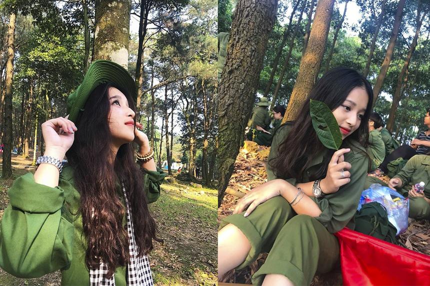 Năm 2018, Kim Anh, sinh viên K14, khoa Quản trị kinh doanh - ĐH FPT Hà Nội,nổi tiếng với hình ảnh cô thanh niên xung phong thời hiện đại được đăng tải trên nhiều fanpage mạng xã hội. Bức ảnh được chụp lại trong kỳ học quân sự đầu khóa của tân sinh viên ĐH FPT.