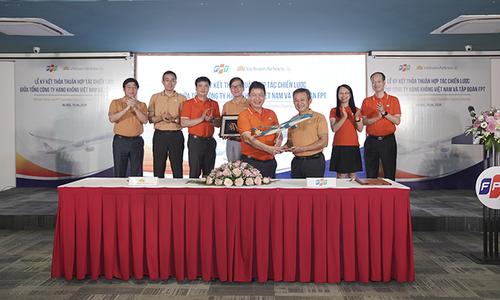 FPT tiếp tục là đối tác cung cấp giải pháp công nghệ cho Vietnam Airlines