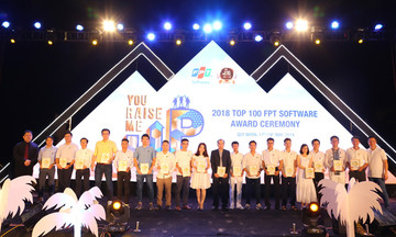 FPT Software tôn vinh Top 100 ở ba miền