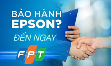 FPT Services hợp tác Epson nâng trải nghiệm khách hàng