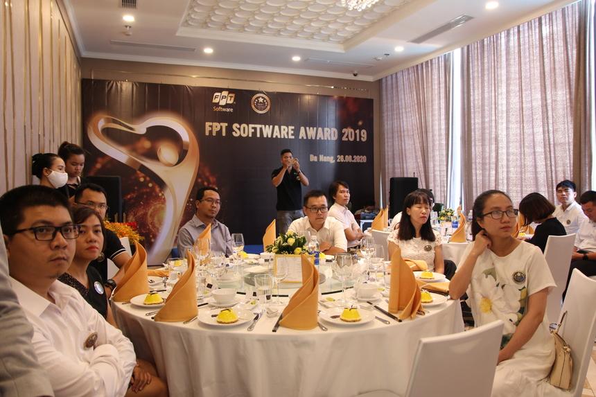 Không khí trang trọng tại điểm cầu FPT Software Đà Nẵng.
