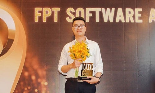 9x trẻ nhất miền Trung nhận danh hiệu Top 100 FPT Software