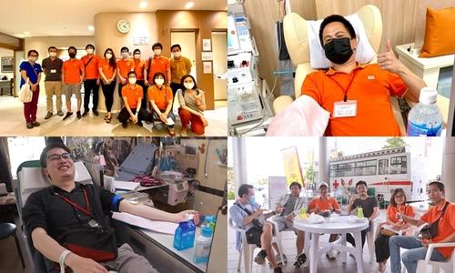 Người FPT Japan chia sẻ giọt máu yêu thương