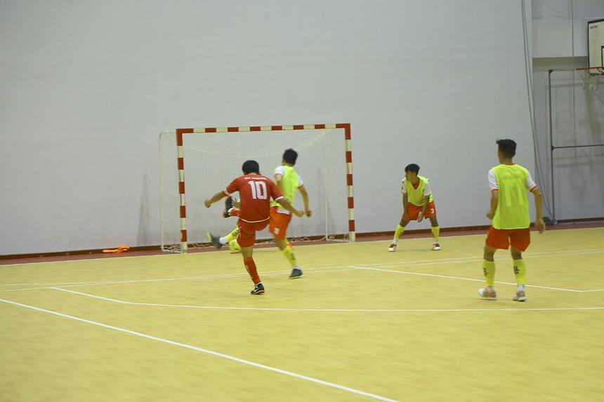Sau khi tạo điều kiện cho đồng đội ghi bàn, đội trưởng Minh Trí cũng ghi tên mình vào bảng tỷ số với bàn nâng tỷ số lên 4-0 ở phút 27, với cú sút từ ngoài vòng cấm.
