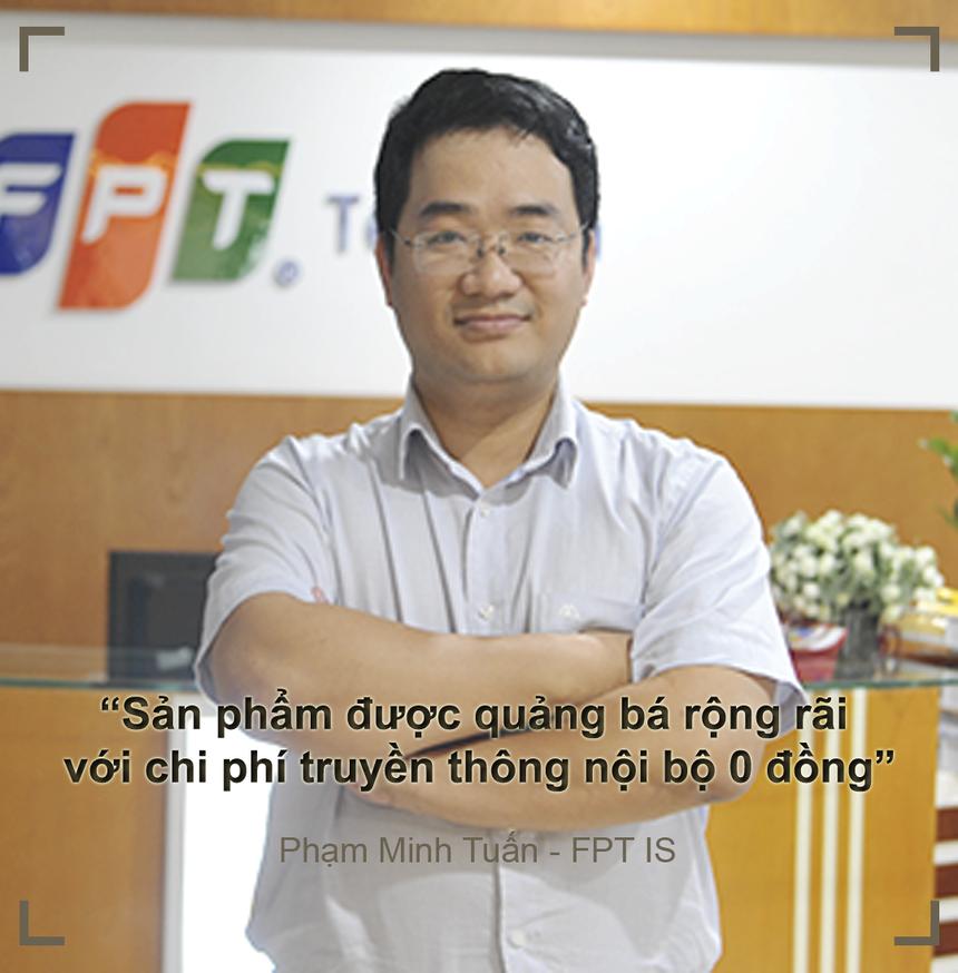 Dừng lại ở vị trí Á quân iKhiến 2019, Phạm Minh Tuấn và Mỵ Duy Long (FPT IS), tác giả FPT.Fortunacảm thấy không mất mát gì. Thành công lớn nhất khi tham gia giải thưởng Sáng tạo FPT là sản phẩm được quảng bá rộng rãi tròn FPT với chi phí nội bộ là 0 đồng. Bên cạnh đó, sau cuộc thi, anh và đồng đội nhận được nhiều sự giúp đỡ từ lãnh đạo để quảng bá và bán sản phẩm ra thị trường Theo Tuấn, với chính sách mới này sẽ kích thích người FPT sáng tạo ra nhiều sản phẩm với nhiều cơ hội quảng bá và bán hàng. Một sản phẩm bước ra từ cuộc thi của FPT chưa hẳn là một sản phẩm hoàn chỉnh. Tuy nhiên, sau cuộc thi, sản phẩm sẽ liên tục được hoàn thiện, phát triển để tiếp cận thị trường.