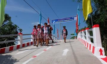 Hành trình xây 150 cây cầu của Quỹ Hy vọng nhà F