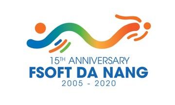 FPT Software Đà Nẵng truyền thông điệp ý nghĩa qua logo tuổi 15