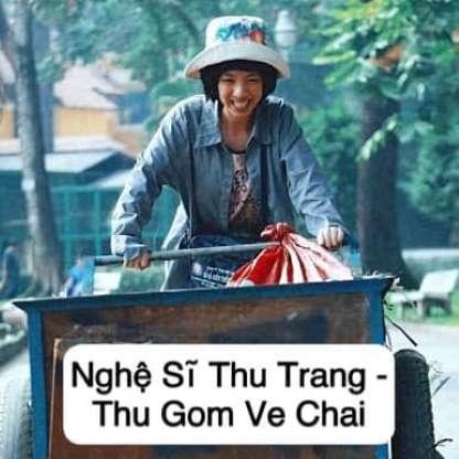 Nghề mới có vẻ hợp với Thu Trang.