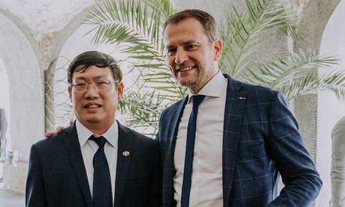 Sếp FPT Slovakia diện kiến tân Thủ tướng
