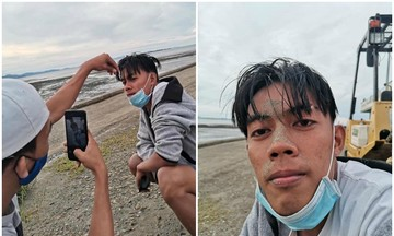 Thanh niên nhiệt tình chụp ảnh 'nghệ thuật' cho bạn