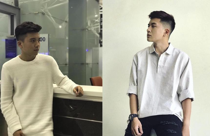 """Được các fanpage có tầm ảnh hưởng """"lăng xê"""" với tấm ảnh có góc nghiêng đẹp như trai Hàn, Việt Hoàng - sinh viên ngành Quản trị Truyền thông, ĐH FPT nhanh chóng được cư dân mạng săn lùng thông tin. Được biết, chàng hot boy này hiện đang là sinh viên năm thứ hai."""
