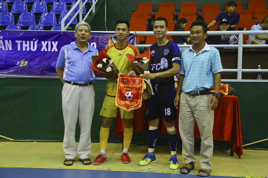 Với 5 bàn thắng, hai cầu thủ Dương Quốc Cương (FPT IS) và Ngô Đức Duy (FPT Software) đã chia đôi giải thưởng Vua phá lưới của giải. Ngoài ra, số 10 Dương Quốc Cường còn ẵm luôn danh hiệu Cầu thủ Xuất sắc nhất giải.