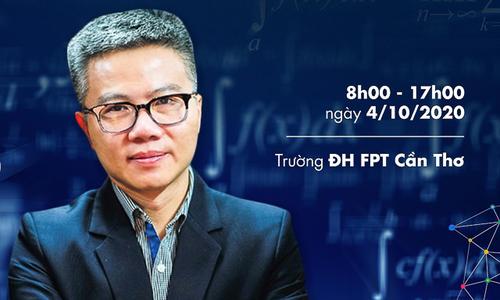 FPT Edu cùng GS Ngô Bảo Châu đưa Ngày hội Toán học mở về miền Tây
