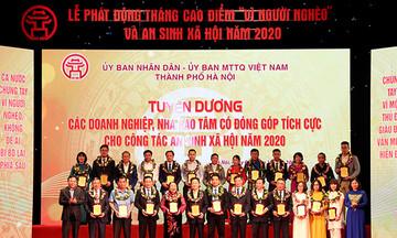 Hà Nội vinh danh FPT là đơn vị tiêu biểu trong công tác an sinh xã hội