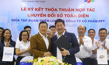 FPT cùng Thiên Long ký kết hợp tác chuyển đổi số