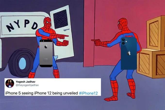 Khi iPhone 5 gặp iPhone 12...