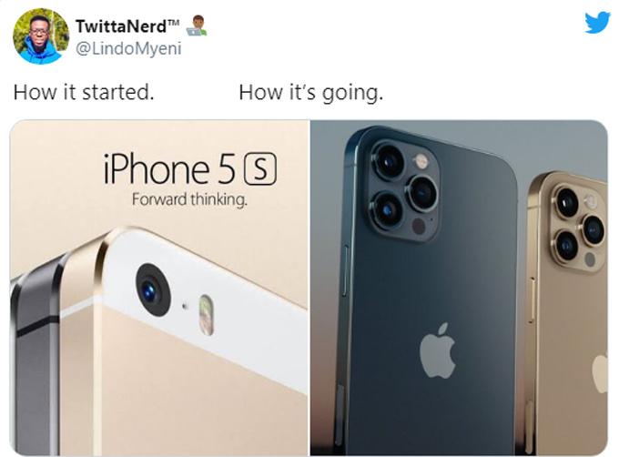 Sau nhiều năm liên tục cải tiến và thay đổi kiểu dáng, Apple cuối cùng vẫn quay về kiểu thiết kế các cạnh vuông vắn và bo cong ở bốn góc của năm 2012.