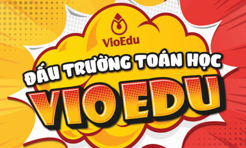 Sự trở lại của đấu trường Toán học phiên bản Việt lớn nhất toàn quốc
