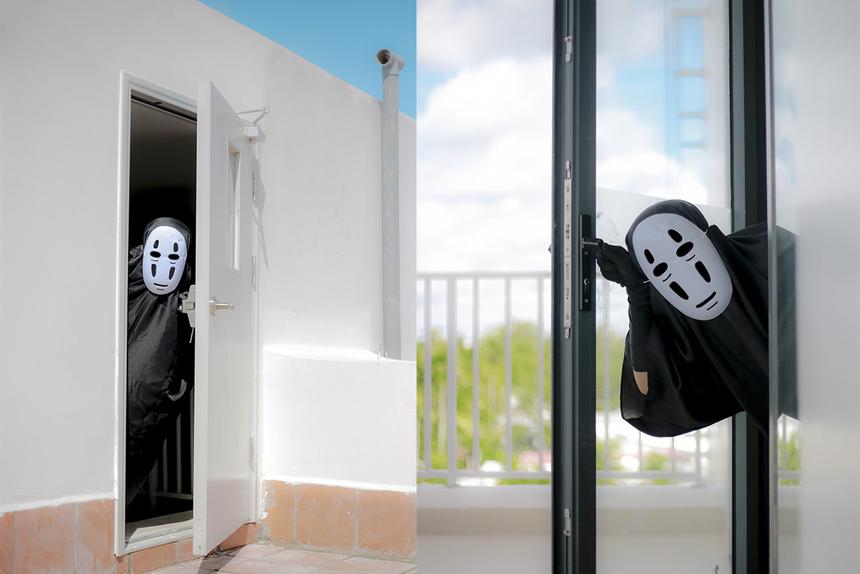 Nhân vật Vô Diện sẽ xuất hiện trong hoạt động lễ hội Halloween sắp tới do CLB F-Art tổ chức cho sinh viên ĐH FPT Cần Thơ.
