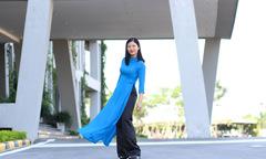 Phái đẹp F-Ville đua sắc thi Hoa khôi áo dài