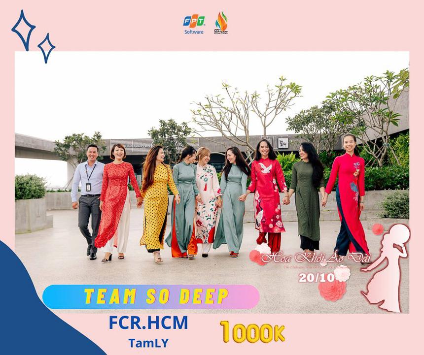 """Giải """"Team So Deep"""" thuộc về tập thể FCR.HCM."""