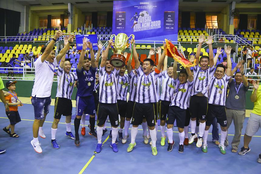Truyền hình FPT giành ngôi quán quân với cúp, cờ, huy chương và tiền thưởng 5 triệu đồng. Ở vòng bảng, họ giành ngôi nhất bảng A và đánh bại Dịch vụ Khách hàng đến 9-1 trong trận bán kết.