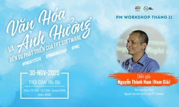 Anh Nguyễn Thành Nam bàn chuyện văn hóa với các PM