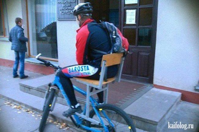 Ngồi xe đạp cả ngày không sợ mỏi nữa nha.