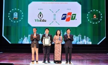 Vioedu giành giải thưởng Giải pháp giáo dục thông minh