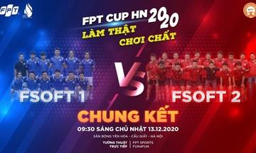 Chung kết FPT Cup 2020: Cuộc chiến nội bộ của người Phần mềm