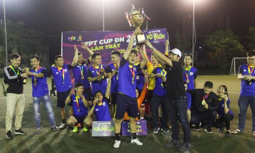 FPT Telecom lên ngôi vương FPT Cup miền Trung