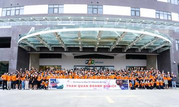Gần 300 sinh viên FPT Polytechnic trải nghiệm tại Phần mềm Đà Nẵng