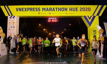 Gần 5.000 VĐV cùng runner nhà F tranh tài tại VnExpress Marathon Huế
