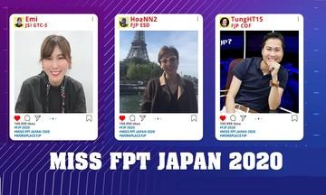 Lộ diện Tam hậu FPT Japan 2020
