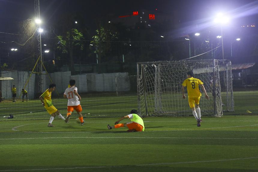 Xen kẽ 5 bàn thắng của Võ Minh Thành là hai pha lập công của số 10 Tạ Trí Nhuận và số 84 Ngô Thành Luân. SG3 khép lại trận tranh hạng Ba bằng chiến thắng ấn tượng 7-0.