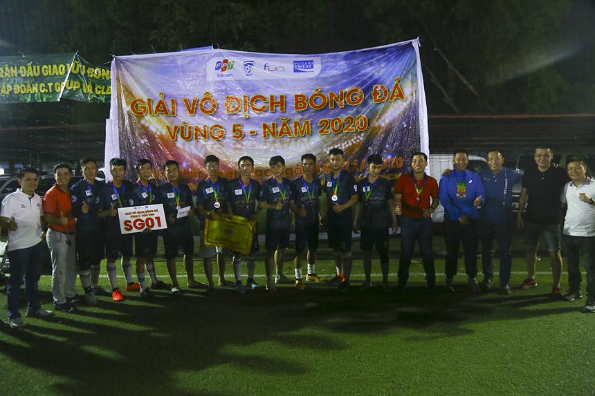 Đội bóng SG1 đoạt ngôi Á quân sau khi thua tâm phục ở chung kết - đây cũng là trận thua duy nhất của họ suốt cả giải.