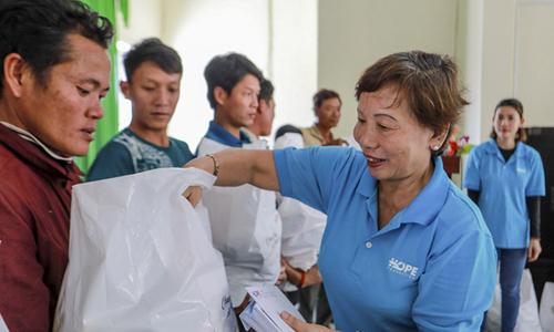 Quỹ Hy vọng phát động tặng quà Tết cho người nghèo