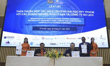 ĐH FPT ký kết hợp tác hơn 20 đối tác du lịch