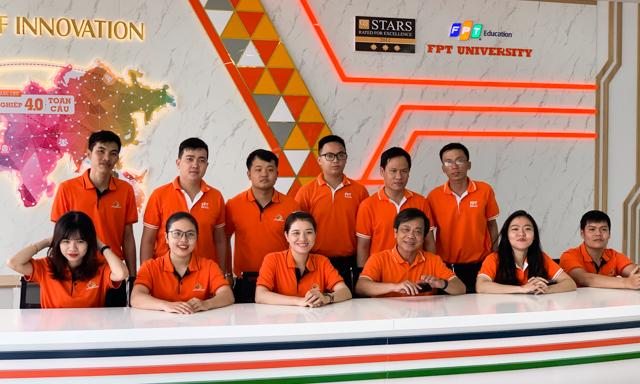Đại học FPT Quy Nhơn đang có đội ngũ cán bộ trẻ, nhiệt huyết. Ảnh: ĐVCC