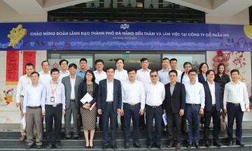 FPT cam kết cùng Đà Nẵng xây thành phố khoa học công nghệ