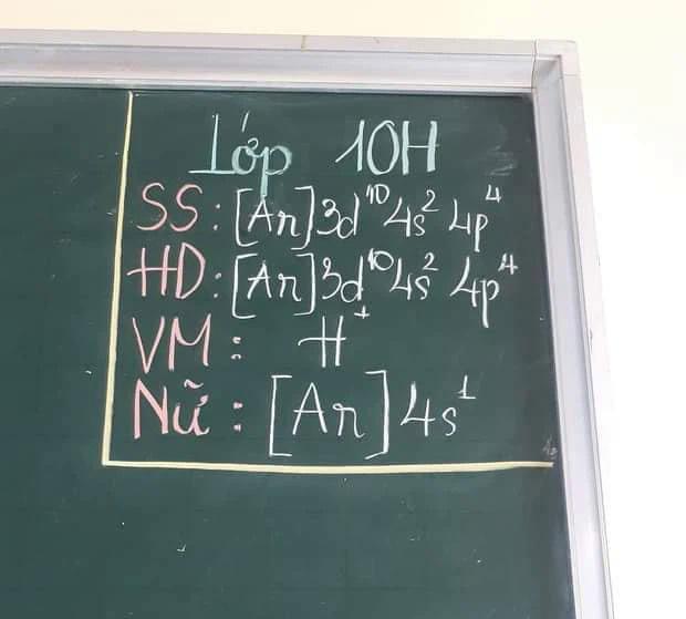 Lớp trưởng cho biết sĩ số đi, giải cái này xong chắc hết 15 phút quá.