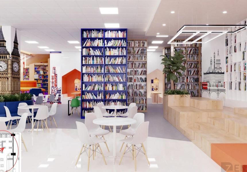 Nhà trường rất chú trọng đầu tư vào thư viện. Nơi đây sẽ có hàng chục nghìn đầu sách cùng những không gian đọc đa dạng phù hợp với nhu cầu và sở thích đọc của cá nhân hay cả một nhóm lớn.