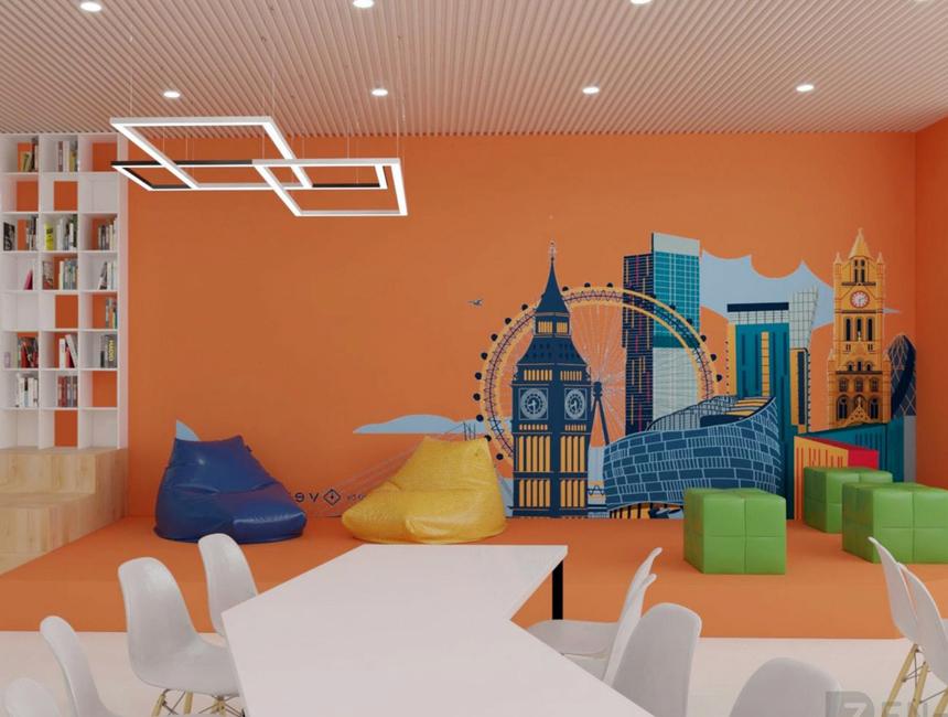 Ngoài ra, thư viện còn bố trí những không gian mở, có thể vừa đọc sách vừa uống cà phê, trao đổi việc học cùng bạn bè.