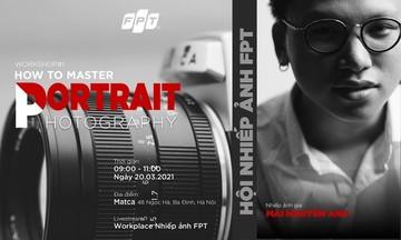 Hội Nhiếp ảnh FPT tổ chức buổi hướng dẫn về chụp chân dung