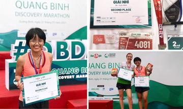 Chân chạy nhà F giành giải Nhì Marathon Quảng Bình