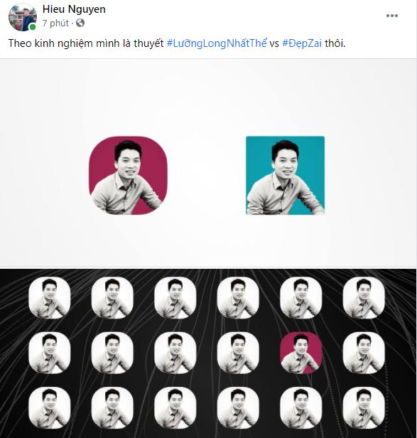"""Anh Nguyễn Trung Hiếu, Phó phòng Phát triển sản phẩm, FPT Online, ứng dụng côngthức toán học """"siêu hình tròn - superellipse"""" trong thiết kế logo của Xiaomi. Trong khi có vô số lựa chọn giữa hình vuông và hình tròn, nhà thiết kế người Nhật HARA đã lựa chọn biến số n=3 để tạo nên sự cân bằng hoàn hảo giữa hình vuông và hình tròn, thể hiện đầy đủ nhất ý nghĩa của concept """"Alive""""."""