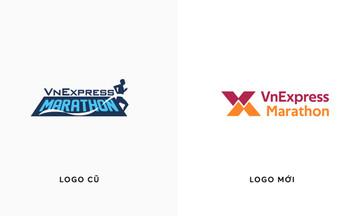 VnExpress Marathon 'làm mới' logo nhận diện