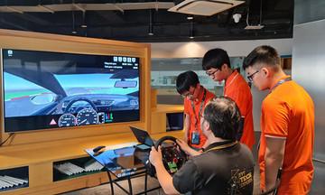 Nhà Phần mềm ra mắt hệ thống đào tạo lái xe FPT Hola